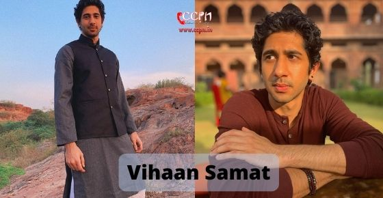 How to contact Vihaan Samat