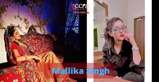 How to contact Mallika Singh