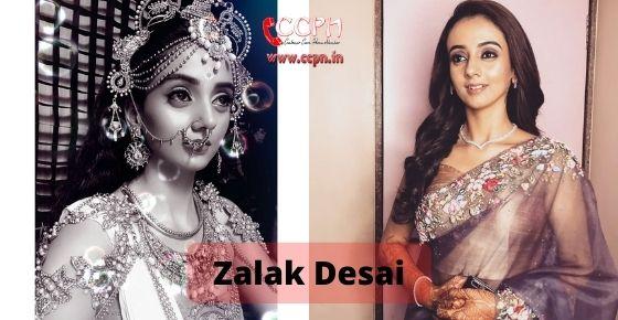 How to contact Zalak Desai
