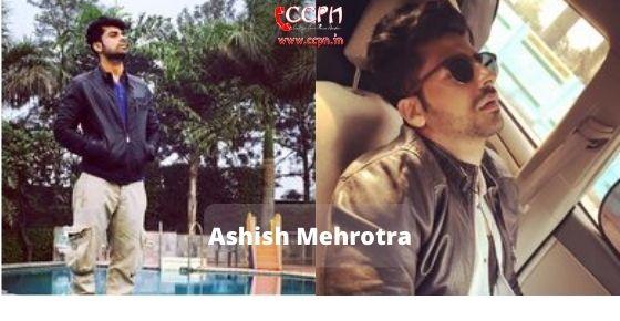 How to contact Ashish Mehrotra