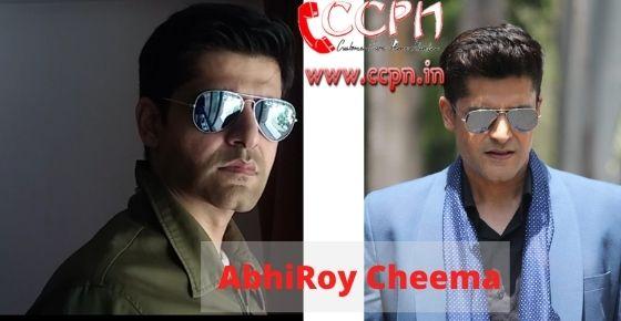 How to contact AbhiRoy-Cheema