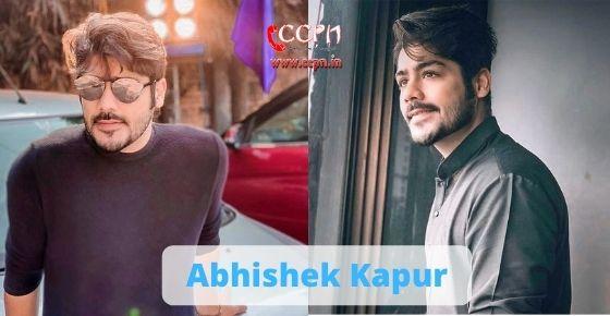 How to contact Abhishek Kapoor