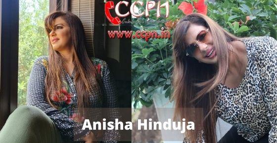 How to contact Anisha-Hinduja
