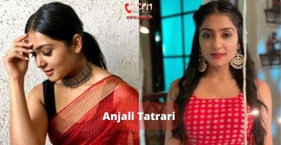 How to contact Anjali-Tatrari