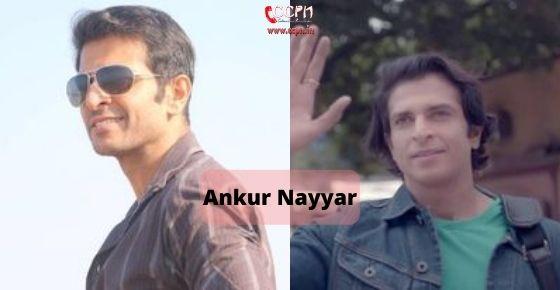 How to contact Ankur Nayyar