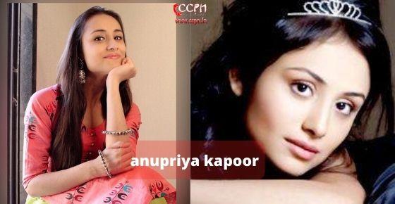 How to contact Anupriya-Kapoor
