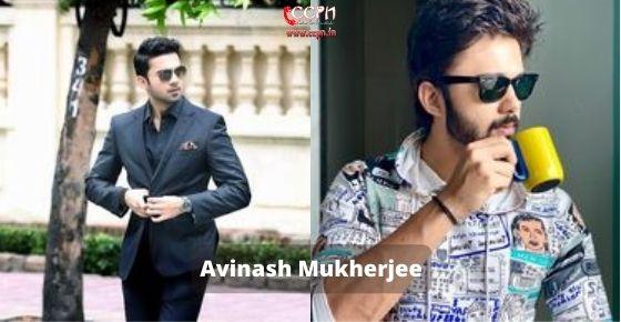 How to contact Avinash-Mukherjee