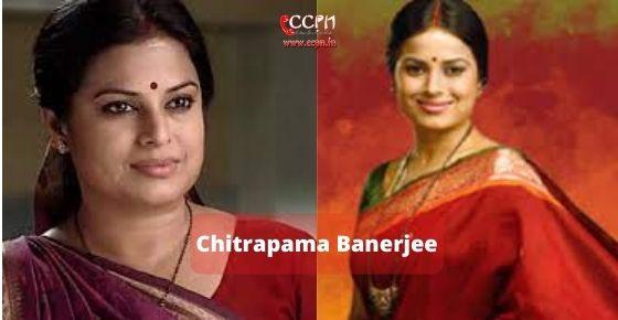 How to contact Chitrapama-Banerjee