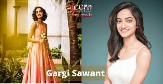 How to contact Gargi-Sawant