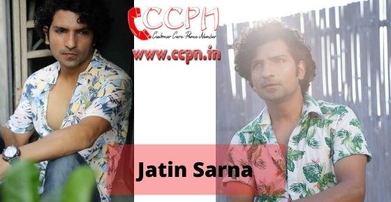 How to contact Jatin-Sarna