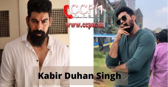 How to contact Kabir-Duhan-Singh