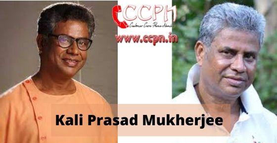 How to contact Kali-Prasad-Mukherjee