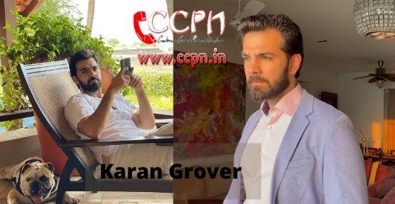 How to contact Karan-Grover