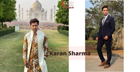 How to contact Karan-Sharma