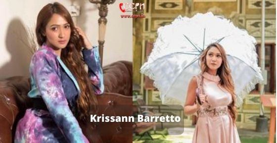How to contact Krissann Barretto