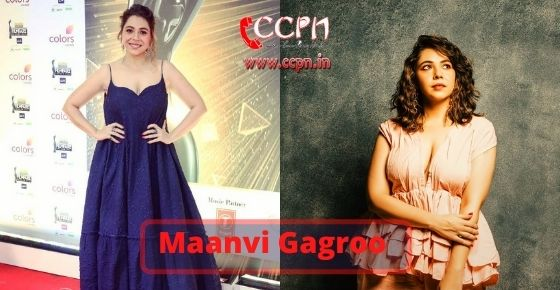 How to contact Maanvi-Gagroo