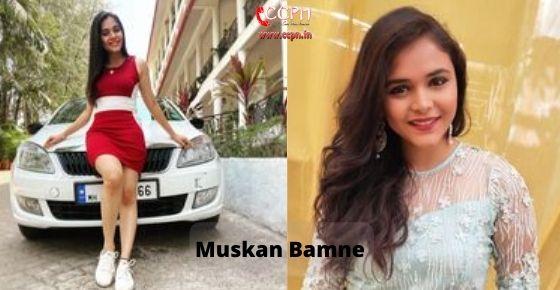 How to contact Muskan Bamne