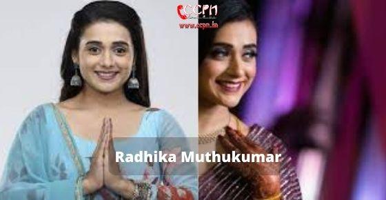 How to contact Radhika-Muthukumar