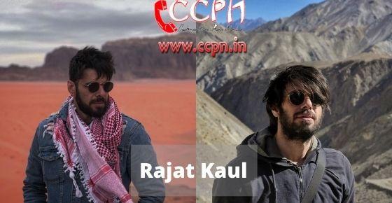 How to contact Rajat-Kaul