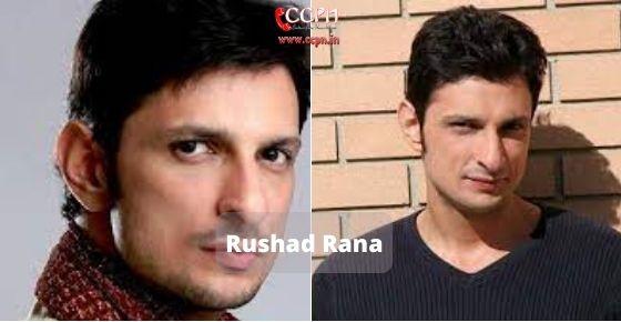How to contact Rushad Rana