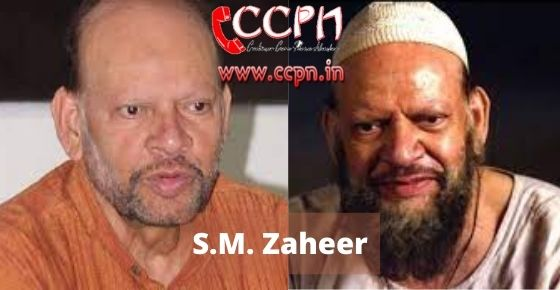 How to contact S.M.-Zaheer