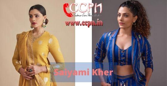 How to contact Saiyami-Kher