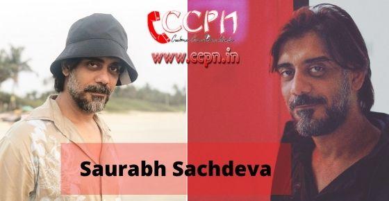 How to contact Saurabh-Sachdeva