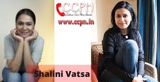 How to contact Shalini-Vatsa