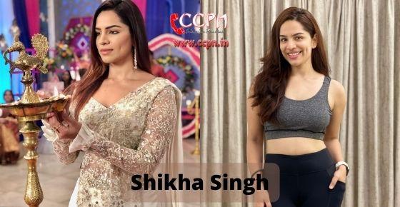 How to contact Shikha Singh