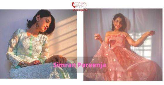How to contact Simran Pareenja