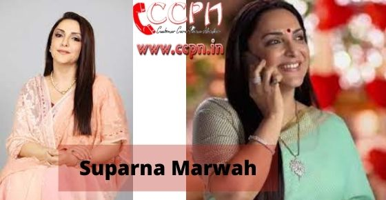 How to contact Suparna-Marwah