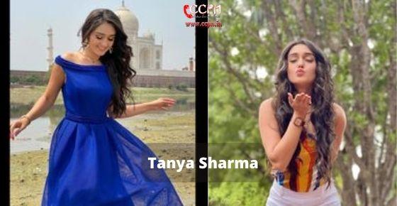How to contact Tanya Sharma