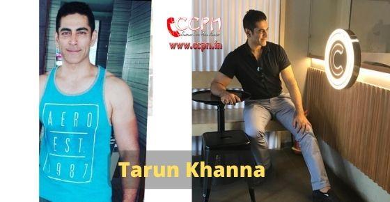 How to contact Tarun-Khanna