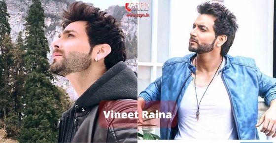 How to contact Vineet Raina