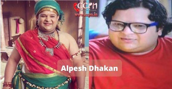 How to contact Alpesh-Dhakan