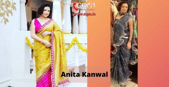 How to contact Anita-Kanwal