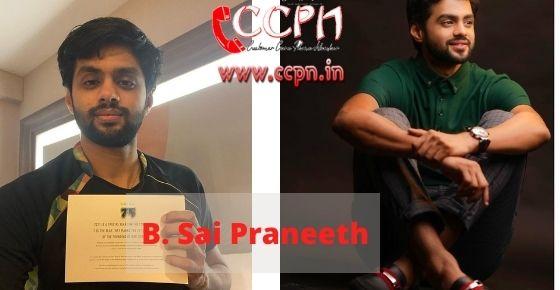 How to contact B.-Sai-Praneeth