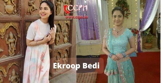 How to contact Ekroop-Bedi