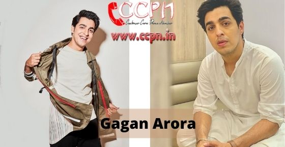How to contact Gagan-Arora