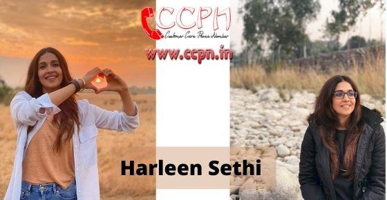 How to contact Harleen-Sethi