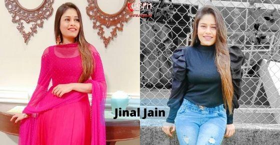 How to contact Jinal Jain
