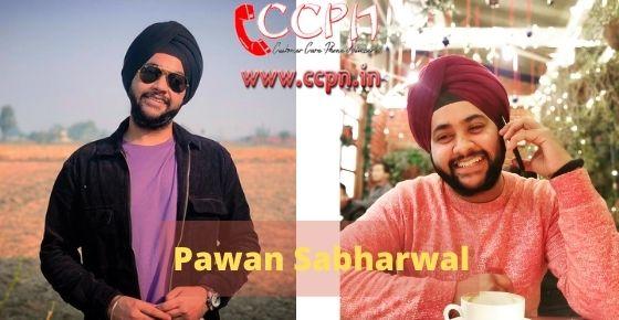 How to contact Pawan-Sabharwal