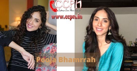 How to contact Pooja-Bhamrrah