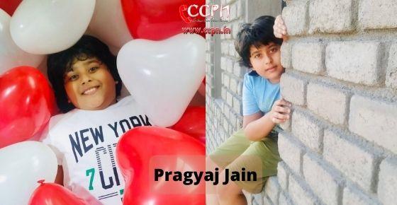 How to contact Pragyaj Jain