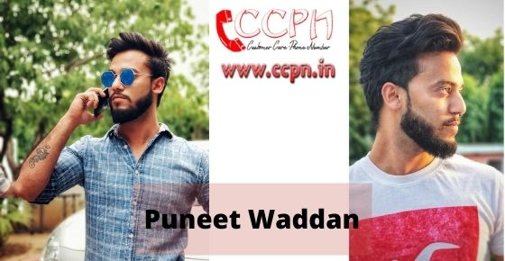 How to contact Puneet-Waddan