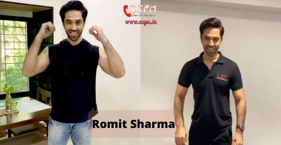 How to contact Romit Sharma