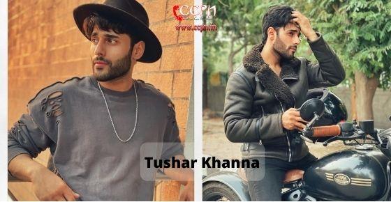 How to contact Tushar-Khanna