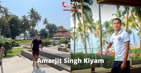 How to contact Amarjit Singh Kiyam