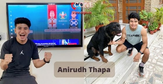 How to contact Anirudh Thapa