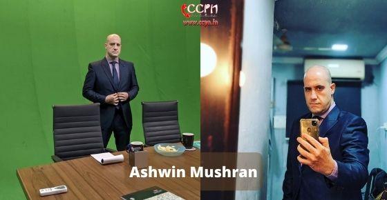 How to contact Ashwin Mushran